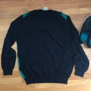 Lacoste Sweaters - Lacoste V-neck argyle sweater